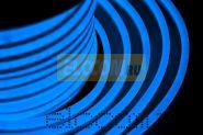 Гибкий неон светодиодный, постоянное свечение, синий, оболочка синяя, 220В, бухта 50м NEON-NIGHT