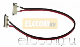 Коннектор соединительный для одноцветных светодиодных лент без влагозащиты, шириной 10 мм.