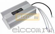 Источник питания 110-220V AC/12V DC, 25А, 300W с проводами, влагозащищенный (IP67)