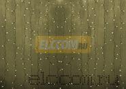 """Гирлянда """"Светодиодный Дождь"""" 2х1,5м, постоянное свечение, прозрачный провод, 220В, диоды ТЁПЛО-БЕЛЫЕ"""