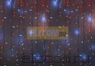 """Гирлянда """"Светодиодный Дождь"""" 2х3м, эффект мерцания, белый провод, 220В, диоды КРАСНЫЕ, NEON-NIGHT"""
