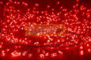 """Гирлянда """"Мишура LED"""" 6 м 576 диодов, цвет красный"""
