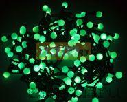 """Гирлянда """"LED - шарики"""", Ø17,5мм, 20 м, цвет свечения зеленый, 24В, Neon-Night"""