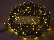 """Гирлянда """"Твинкл Лайт"""" 20 м, 240 диодов, цвет желтый, черный провод """"каучук"""", Neon-Night"""