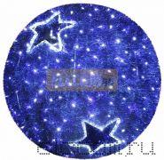 "Фигура ""Шар"", LED подсветка диам. 120см, синий NEON-NIGHT"