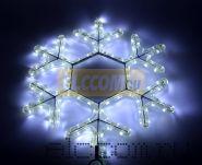 """Фигура световая """"Снежинка LED"""" цвет белый, размер 45*38 см NEON-NIGHT"""