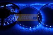 LED лента открытая, ширина 10 мм, IP23, SMD 5050, 60 диодов/метр, 12V, цвет светодиодов синий