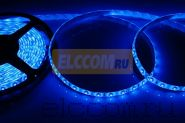 LED лента герметичная в силиконе, ширина 8 мм, IP65, SMD 3528, 60 диодов/метр, 12V, цвет светодиодов синий NEON-NIGHT