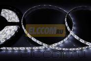 LED лента герметичная в силиконе, ширина 8 мм, IP65, SMD 3528, 60 диодов/метр, 12V, цвет светодиодов белый NEON-NIGHT