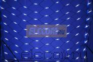 Гирлянда - сеть Чейзинг LED 2*1.5м (288 диодов), КАУЧУК, БЕЛЫЕ и СИНИЕ диоды