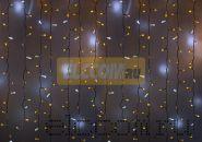 """Гирлянда """"Светодиодный Дождь"""" 2х3м, эффект мерцания, белый провод, 220В, диоды ЖЁЛТЫЕ, NEON-NIGHT"""