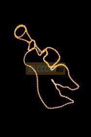 "Фигура ""Летящий Ангел"", размер 48*103 см NEON-NIGHT"